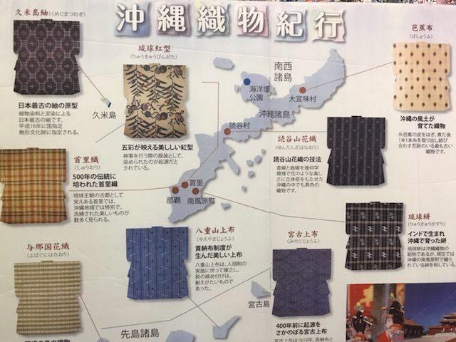 沖縄県地図・宮古上布が生産されている宮古島の場所