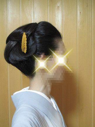 自分で出来る和髪・着物簡単セルフヘアアレンジ・ウイッグ使いスタイル