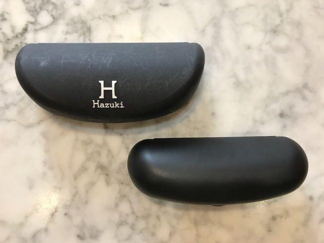 ハズキルーペ・旧モデルとラージのケースの比較