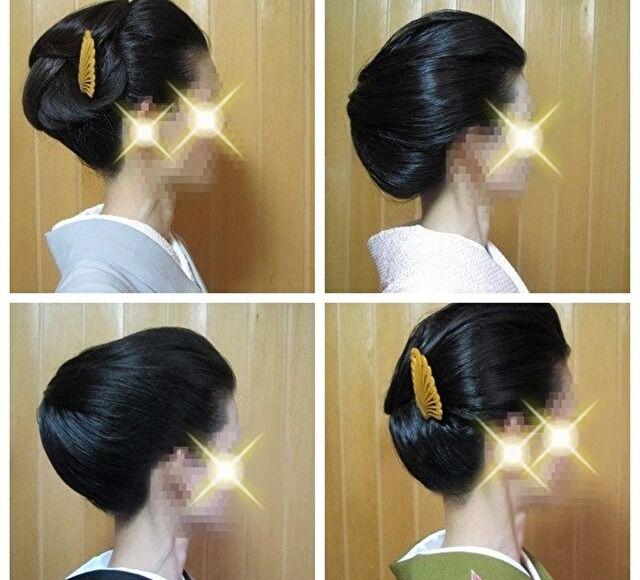 着物の髪型 簡単に自分でアレンジしてワンアップ⇑した装いに大変身!